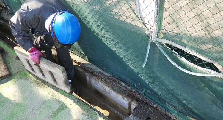 側溝等の清掃